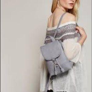FREE PEOPLE essential backpack - light grey